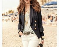 CABI Grand Slam Blazer #5150 Navy Size Medium