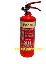 FSS UK 2 LITRE AFF FOAM FIRE EXTINGUISHER - 2L/2LTR BRITISH STANDARD KITEMARKED