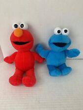 Sesame Street Elmo Cookie Monster Plush Stuffed Toy Fisher Price Toys