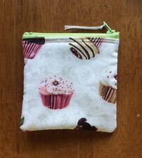 Cupcake Handmade Fidget Spinner Holder Coin Purse Credit Card Wallet