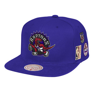 Mitchell & Ness Purple NBA Toronto Raptors Blue Under Finals HWC Snapback