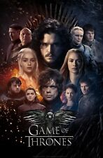 GAME OF THRONES FANTASY TV SHOW WINTER WALL ART CANVAS PICTURE PRINT 20X30""