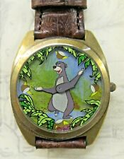 Disney JUNGLE BOOK Baloo Bear Wrist Watch Fossil Mint in box wristwatch