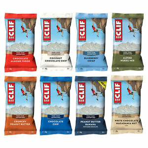 1 Box Clif Bar Energieriegel - 12 Riegel a 68g