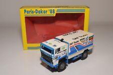S PORTEGIES DAF 3600 TURBOTWIN TRUCK PARIS DAKAR 1988 #609 MINT BOXED