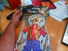 Old geezer Voodoo pin cushion Doll Gag Gift Goofy gadgets New in Bag