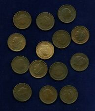 NETHERLANDS  KINGDOM  1 CENT: 1948, 1950, 1951, 1952, 1954, 1955, 1956, 1957,...