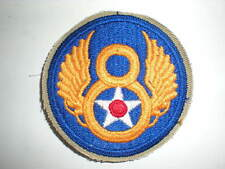USAAF WWII 8TH AIR FORCE ARMY AIR CORPS PATCH (REPRODUCTION)