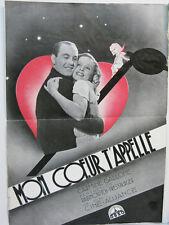 MON COEUR T'APPELLE - 1934 - C.GALLONE - GFFA -Films OSSO - J.KEPURA -D.DARRIEUX