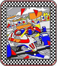 Atari Pole Position Sideart Set (2 pc set)