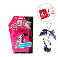 Monster High Pink  Agenda With Pen & Creeperific Charm - Clawdeen Wolf