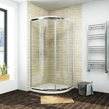 Quadrant Shower Enclosure Walk In Corner Shower Cubicle Enclosure Tray+Waste