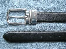 $75. POLO-RALPH LAUREN Reversible Black/ Brown Leather Belt (38)  (eur 95)