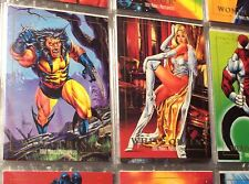 1992 1993 1994 MARVEL MASTERPIECES COMPLETE MASTER CARD SETS! 37 INSERTS X-MEN!