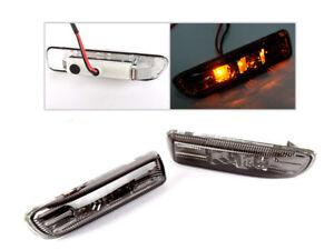 For BMW E46 98-01 SMOKE LED SIDE MARKER REPEATER INDICATOR LIGHT SEDAN COUPE