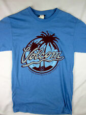 Volcom Stone Premium soft skate men's T-Shirt blue shirt size SMALL