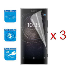 For Sony Xperia XA2 - Screen Protector Cover Guard LCD Film Foil x 3