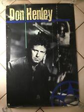 Vintage 1985 Don Henley Promo Poster Promotional The Eagles