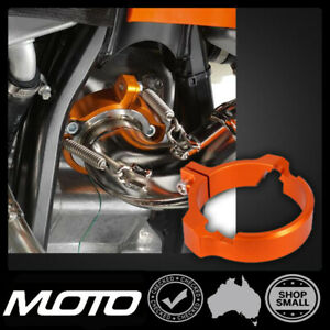Exhaust Protection Flange For KTM SX EXC 250 Husqvarna 250 300 TX300 17 - 22