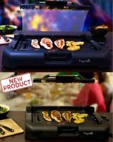 Smokeless Indoor Electric Grill Power 1200 Watt Non-Stick BBQ AS SEEN ON TV NEW