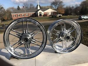 Polaris Victory NOS OEM Vision Cross Country Cross Roads Billet Wheel Set