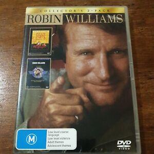 Robin Williams Dead Poets Society Good Morning Vietnam DVDR4 Like New! FREE POST