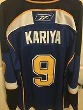 St. Louis Blues - Paul Kariya Reebok Hockey Jersey sz XXL 2XL