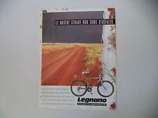 advertising Pubblicità 1990 BICICLETTA MOUNTAIN BIKE LEGNANO