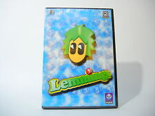 LEMMINGS 3D new factory sealed PC game in DVD case