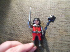 Playmobil-Set-5757-Red-Dragon-Fortress-Castle-Red Knight Toy w Weapons