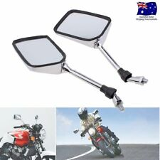 Pair of 10mm Thread Motorcycle Rearview Side Mirrors For VT250 VTR250 ZRX400