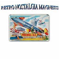 RETRO TV : FIREBALL XL5 - STEVE ZODIAC JIGSAW BOX ARTWORK JUMBO FRIDGE  MAGNET