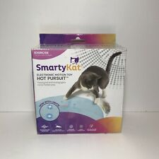 Smarty Kat Hot Pursuit Cat Toy Concealed Motion 8.8Oz Teasing Tail Moving Lights