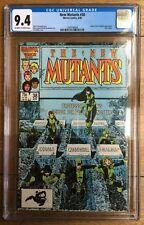 New Mutants #38 CGC 9.4 1985 Emma Frost & Empath Appearance