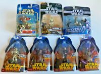 Star Wars Clone Sith Episode III Unleashed Action Figure Toy LOT of 7 Yoda C3PO