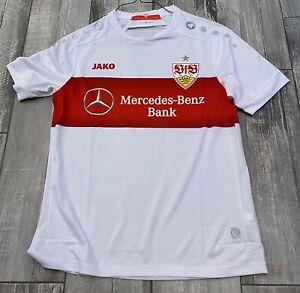 2019-2020 Jako Player Version VfB Stuttgart Home Jersey Bundesliga