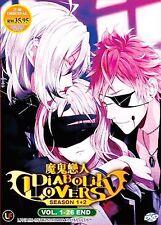 Anime DVD: Diabolik Lovers Season 1+2 (Vol. 1-26 End)_Good Eng Sub_FREE Shipping