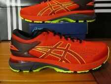 Asics Gel Kayano 25 Cherry Red Safety Yellow Volt 12 1011A019 801 Running Shoes
