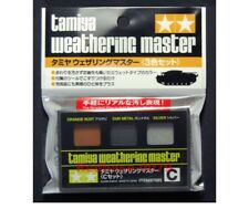 TAMIYA 87085 Weathering Master C SET GUN METAL ORANGE RUST SILVER Colors