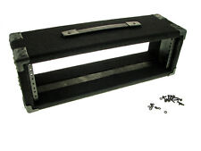 """Procraft 3U 6"""" Deep Equipment Rack 3 Space - Made in the USA - With Rack Screws"""