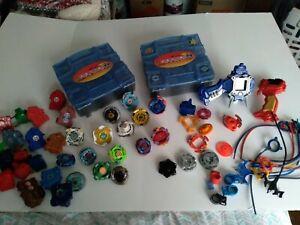 Takara Tomy Hasbro Beyblade Metal Plastic Pieces Launchers Big Lot.  #111