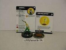 HeroClix Marvel The Mighty Thor Super Rare 059 Fandral w/S007 Dueling Sword!!!!!