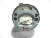 Vespa Grey LML PX Lusso 80,125,150,200, Speedometer / Tacho 120Kmh / 80 MPH