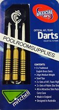 Licensed AFL Aussie Rules CARLTON BLUES C.F.C Darts Set with 6 Flights & Case