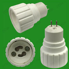 40x MR16, GU5.3 To GU10 Light Bulb Base Socket Lamp Adaptor Converter Holder