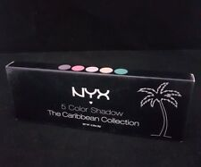 NEW NYX 5 Color Shadow The Caribbean Collection ESP5C01 I Dream of St. Thomas