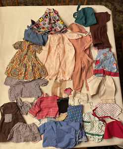 VINTAGE DOLL CLOTHES OUTFITS DRESSES HARD PLASTIC DOLLS LOT Jean Styles Garter