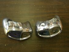 NOS OEM 1960 Ford Galaxie 500 Front Bumper Guards Fairlane