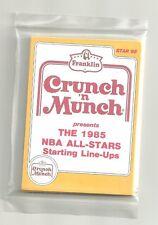 1985 Star Company Crunch 'n Munch 11-card Factory Sealed NBA Set Michael Jordan