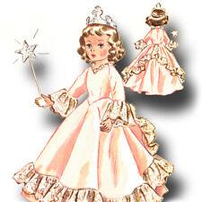 "Vtg 1950s Doll Princess Angel Pattern ~ 14"" 15"" Sweet Sue, Miss Revlon, Toni"